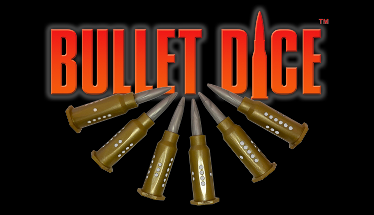 Banner link to Bullet Dice